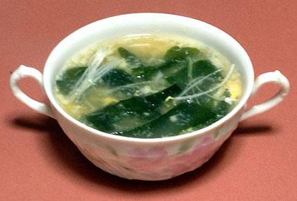 若布スープ