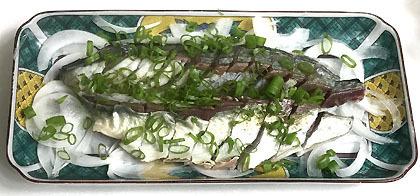 鯖の藁焼き