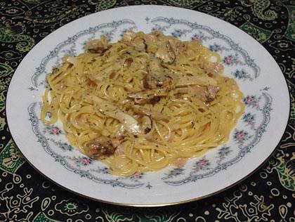 クリームスパゲッティー