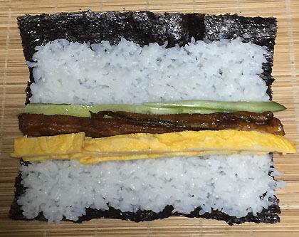 巻き寿司の作り方
