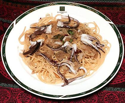海鮮スパゲッティー