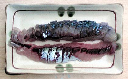 サバの刺身